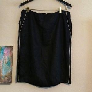 Lauren Pencil Skirt Black Size 12